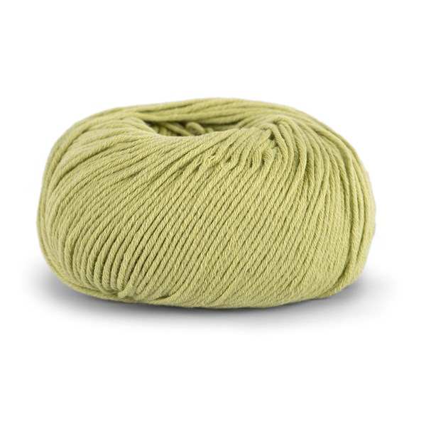 Knit At Home Classic Cotton Merino Ullmix 50 g Gulgrønn 815