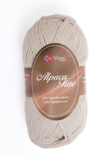Viking of Norway Alpaca Fine 50 gr hiekka