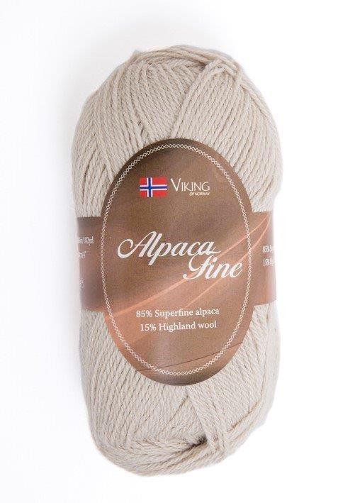 Viking of Norway Alpaca Fine 50 gr hiekka