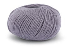 Knit At Home Classic SW Wool Ullgarn 50 g Grå Lavendel 410