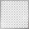 Sabloni, koko 30,5x30,5 cm, paksuus 0,31 mm, 1 ark