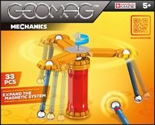 Geomag Mechanics, Magnetiskt Set, 33 delar