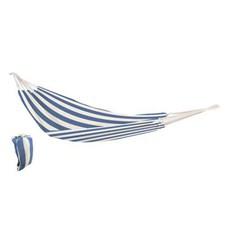 Hengekøye Stor, 150x200 cm, Blå- og hvitstripet