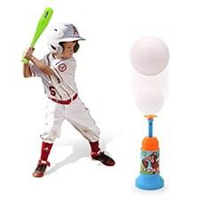 Baseballset med bollkastare
