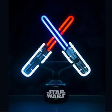 Star Wars Lightsabers Neonlampe