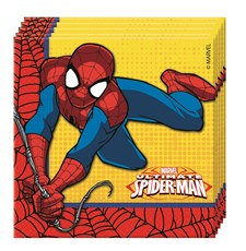 Spindelmannen Servetter, 20 st