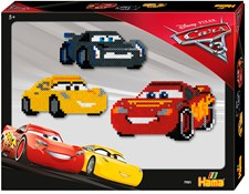 Midi Pärlor Disney Cars 3, 4000 delar, Hama