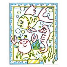 Väritä numeroiden mukaan - merieläin