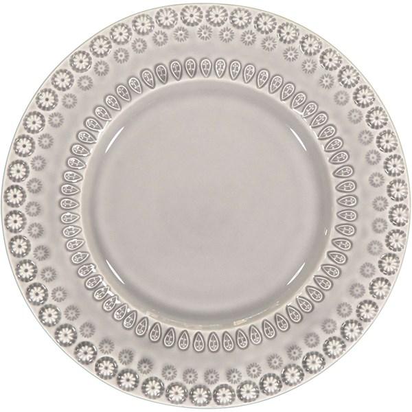 PotteryJo Daisy Assiett 22 cm Soft grå - tallrikar & skålar