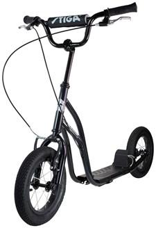 Stiga Air Scooter -potkulauta, musta