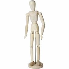 Modelldocka Kvinna 30 cm 1 st