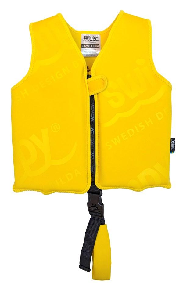 Svømmevest, Gul, 18-30 kg