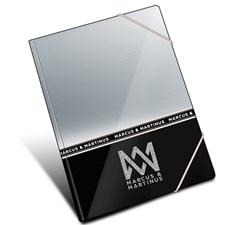 Kansio Silver Line, 24x32 cm, Marcus & Martinus