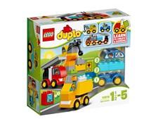 Ensimmäiset ajoneuvoni Lego Duplo Town (10816)