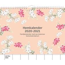Burde Väggkalender 20-21 Hemkalendern