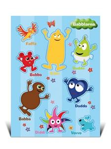 Stickers A5, Babblarna,