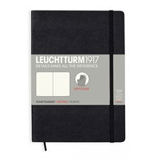 LT NOTEBOOK A5 Soft black 121 p. dotted