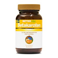 Better You Betakaroten, 50 vegetariska kapslar