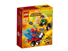 Mäktiga mikromodeller: Scarlet Spider vs. Sandman, LEGO Super Heroes (76089)