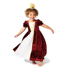 Prinsessekjole, Klassisk modell, 4-5 år
