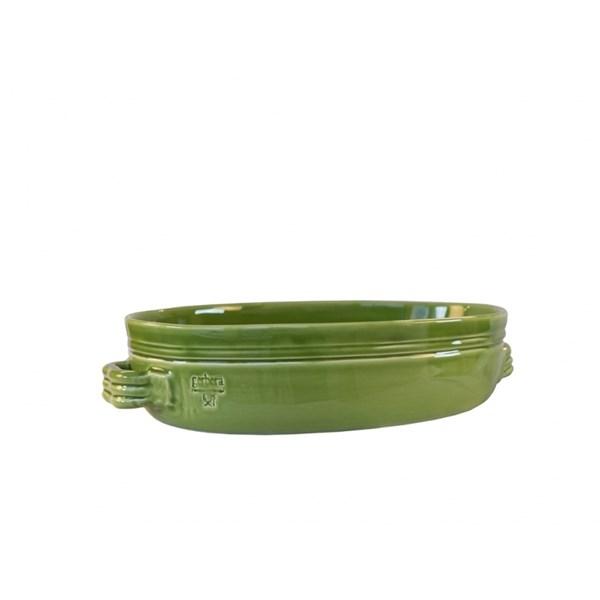 Gerbera Toscana Gratängform 38x26 cm Keramik Mossgrön (grønn)