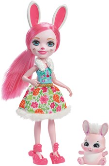 Docka Bree Bunny, 15 cm, Enchantimals