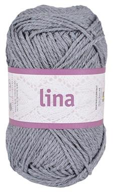 Lina 50g Lin- och bomullsmix Grafitgrå (16206)
