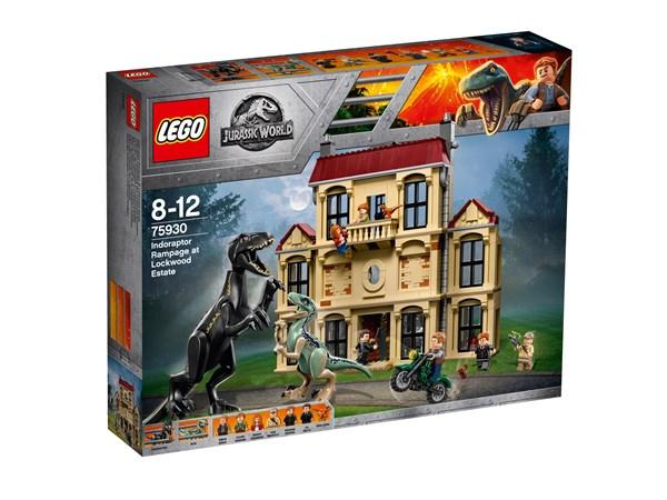 Indoraptor och attacken mot Lockwood Estate, LEGO Jurassic World (75930)