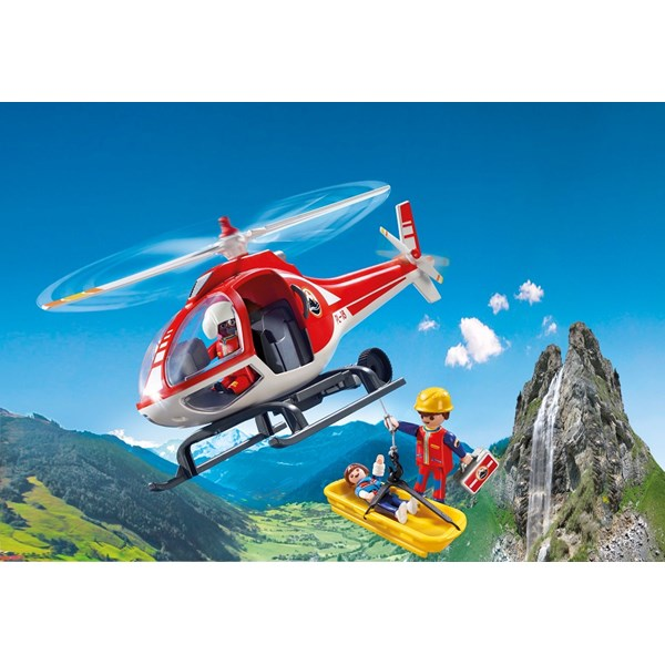 Fj Llr Ddnings Helikopter Playmobil Action 9127
