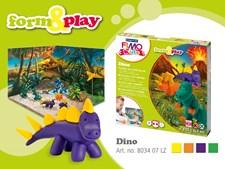 FIMO Lera Dinosaurier