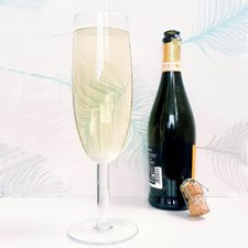 Gigantisk Champagneglass