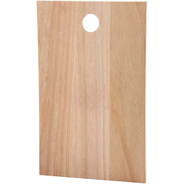Träplatta 35x22 cm Kejsarträd 1 st (kejsarträd) - träfigurer & träföremål