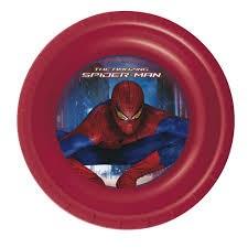 Dyp tallerken, Spiderman, 3D, Tildas