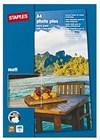 Fotopapir STAPLES Premium A4 matt (25)