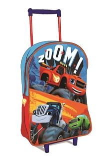 Resväska, Liten Trolley, Blaze Och Monstermaskinerna