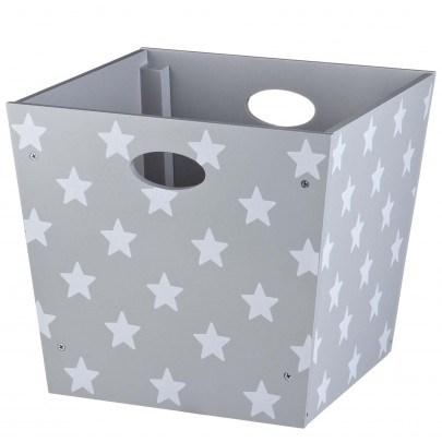 Förvaringsbox Star, Grå, Kids Concept