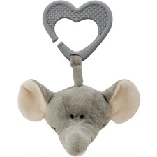 Diinglisar Wild, Bitleksak/Vagnhänge, Elefant, Teddykompaniet