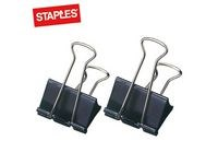 Papirklemme STAPLES foldback 32 mm (12)
