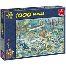 Puslespill 1000 brikker «Deep Sea fun»