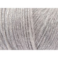 Rico, Fashion Métallisé Aran, Garn, Ullmiks, 50 g, Silver 002