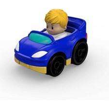 Little People Wheelies Blå bil, Fisher Price
