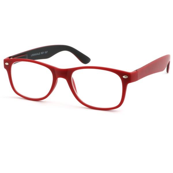 Läsglasögon +2.5 Röda Rey Lookiale
