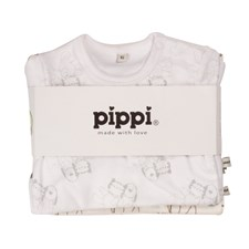 Body 4-pack, Offwhite, Pippi