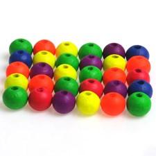 Neonmix, halk. 8 mm, aukon koko 2,5 mm, 12 g, neonmix