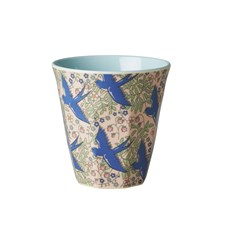 Rice Mugg Melamin Swallow Print Mint