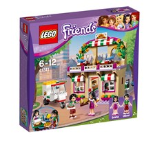 Heartlakes pizzeria, Lego Friends (41311)