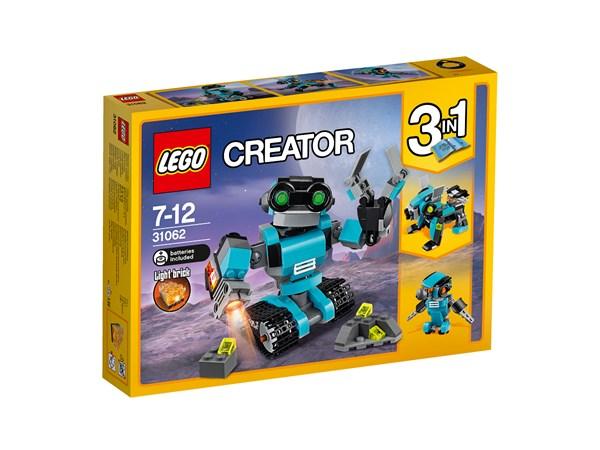 Utforskarrobot, LEGO Creator (31062)
