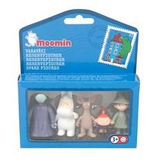 Minifigurset 2, Snorken, Hemulen, Snusmumriken, Lilla My och Sniff
