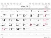 Månadskalendern - 1700