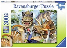Delighted Dinos, Pussel 300 bitar, Ravensburger